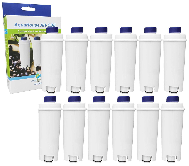 12 cartuchos de filtro de agua AH-CDE compatibles con cafetera ...