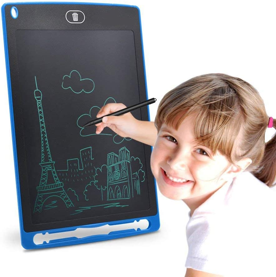 AcserGery LCD Schreibtafel 8,5 Zoll mit Anti-Clearance Maltafel Zaubertafel Funktion Tafel Kinder Notizen Super als Geschenke