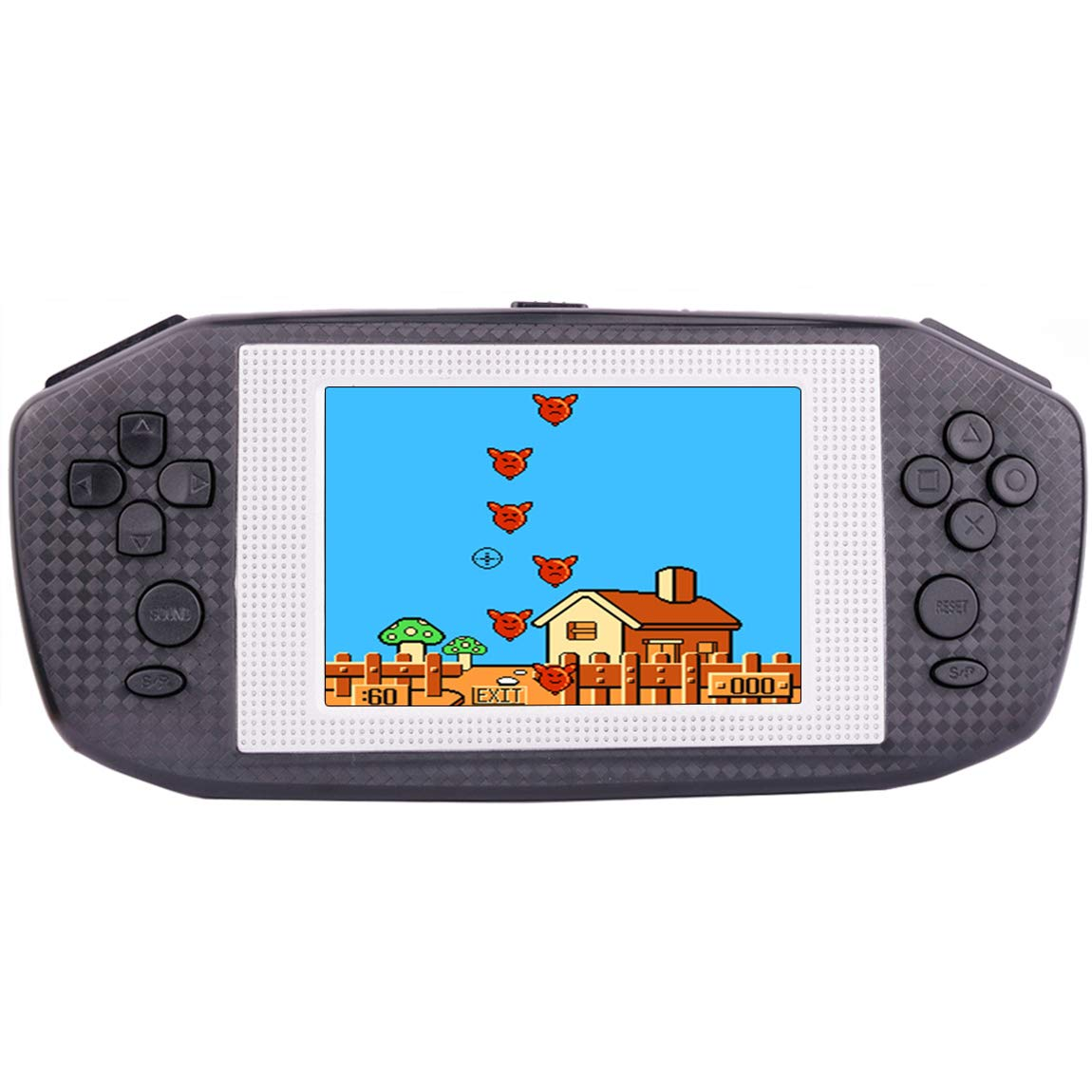 Beico Handheld Games for Kids Adults 3.5'' Large Screen Built in 416 Classic Retro Video Games Seniors Electronic Games Consoles Birthday Present (Black) by Beico (Image #1)