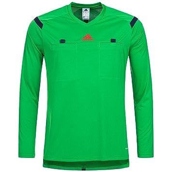 Adidas Ref 14 W Camiseta de árbitro Camiseta Referee Verde de árbitro de fútbol para Mujer, Color Verde, tamaño Small: Amazon.es: Deportes y aire libre