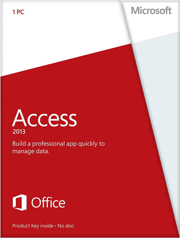 amazoncom microsoft access 2013 key card no disc software