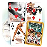 1937 Trivia Playing Cards: 81st Birthday or Anniversary Gift
