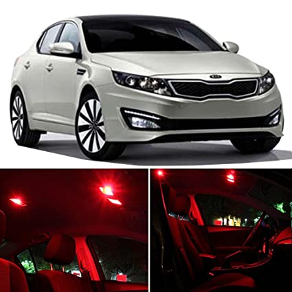 2016 Kia Optima Accessories >> Amazon Com Cciyu 10 Pack Red Led Bulb Replacement Fit For