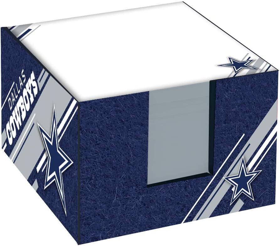 Turner Sports Dallas Cowboys Note Cube W/Holder (8125002)