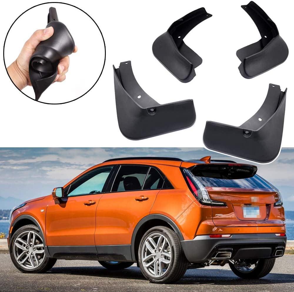 Splash Guards Front Rear For 2019-2020 Cadillac XT4 Mud Guard Flaps Complete Set