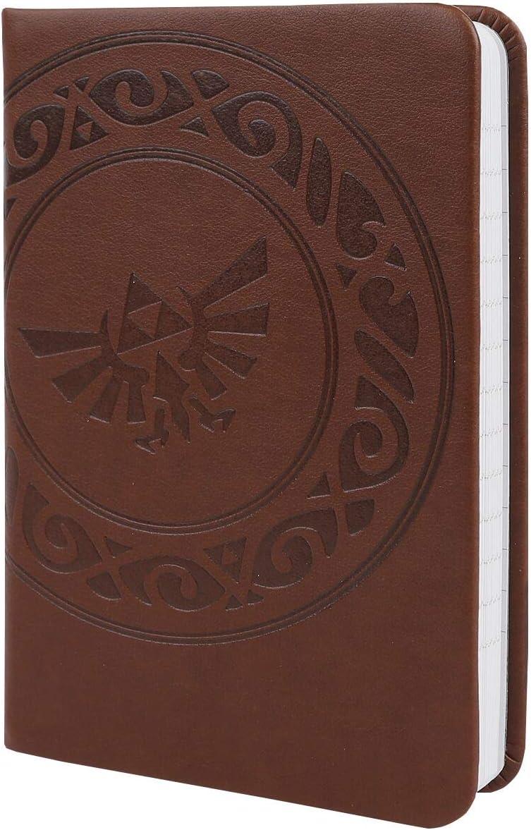 The Legend of Zelda (Triforce) A6 Pocket Premium Notebook, brown
