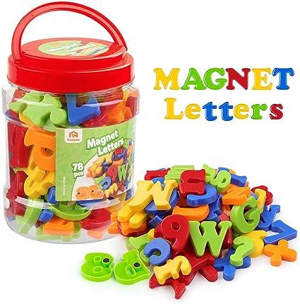 Lot de 15/aimants color/és en forme de chiffres pour r/éfrig/érateur jouets /éducatifs pour apprentissage des math/ématiques.