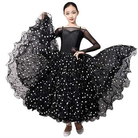 Vestidos de Lisa Práctica de Danza Moderna para Mujeres Vestido de ...