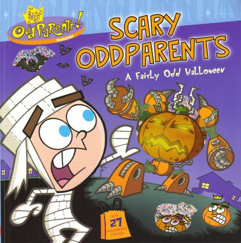 Scary Oddparents - A Fairly Odd Halloween with 27 Holographic stickers ()