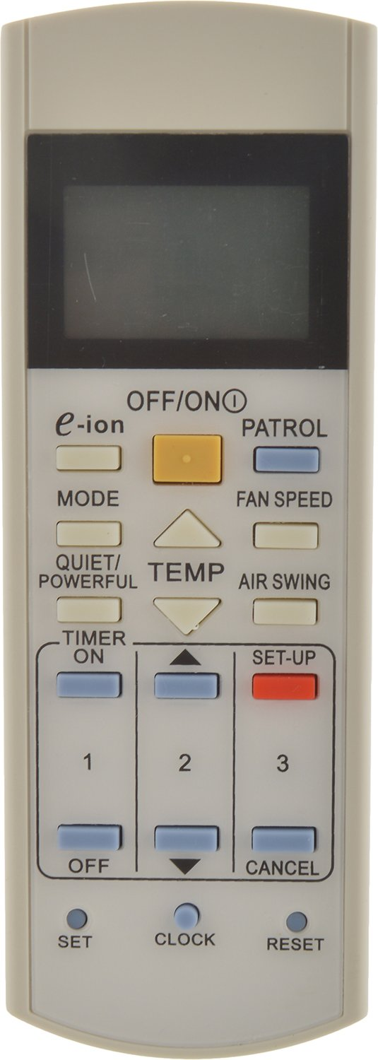 Sharp Plus SP-1211 AC Remote (For Panasonic)