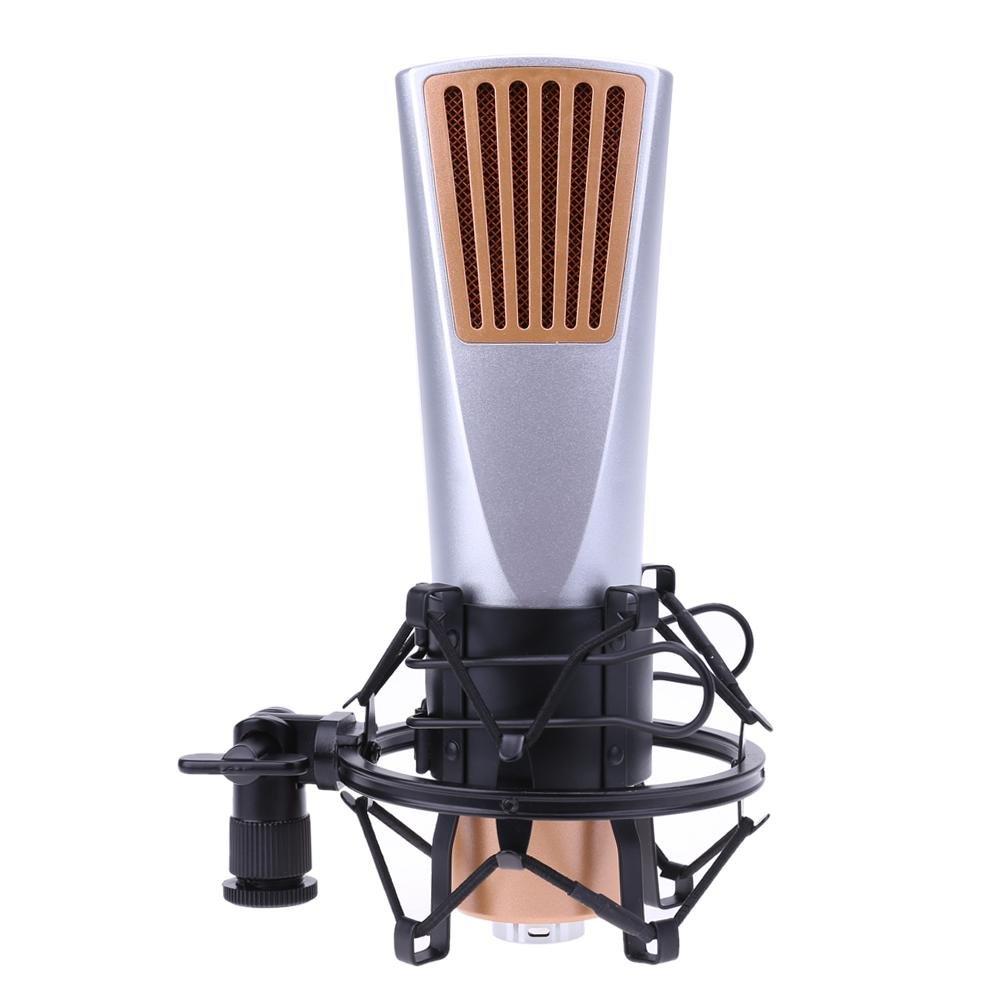 vanpower q6 Professional 3.5有線サウンド録音Braodcastingコンデンサーマイク B0789HFFR6