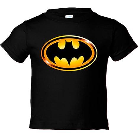 1bfb10dfc Camiseta niño Batman logo - Negro