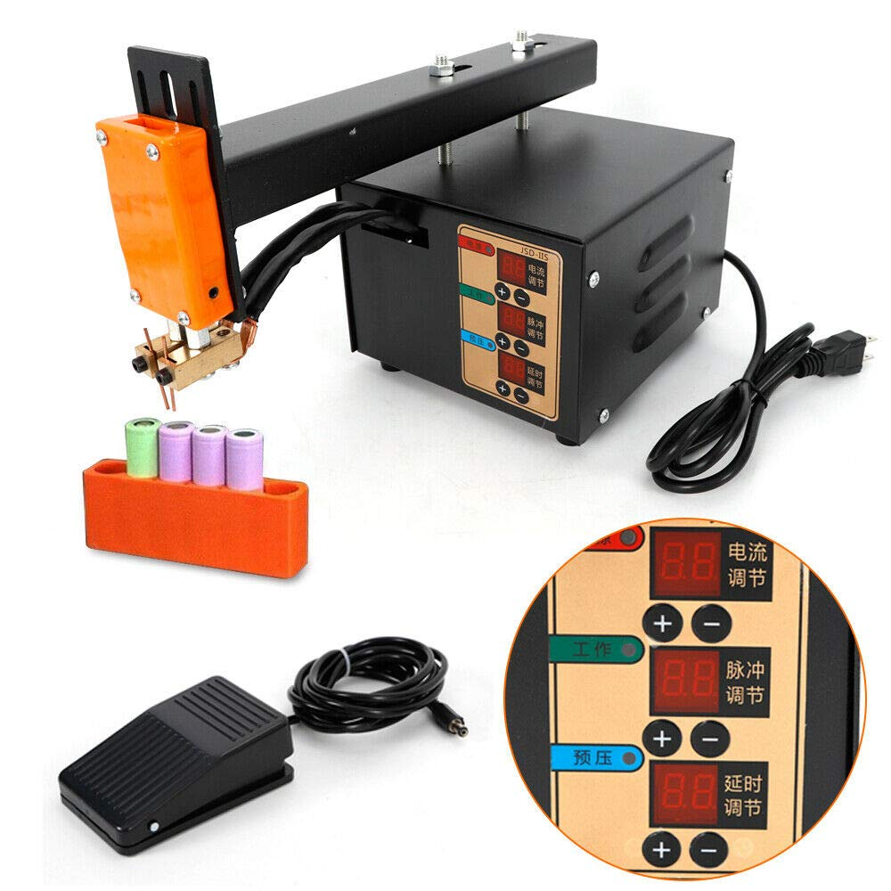 3KW 18650 Battery Pack Welding Soldering Machine Pulse Pulse&Current Display by TUQI