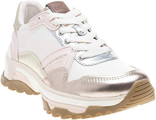 Coach C143 Mujer Zapatillas Natural: Amazon.es: Zapatos y complementos