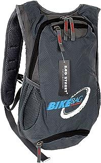Bag Street Sac à dos vélo léger Grande/espace Trekking Outdoor vacances & Voyage résistant Nylon en bleu ou gris (4068)