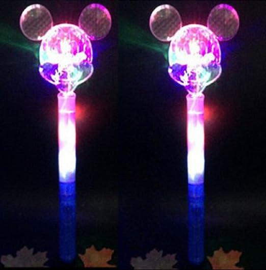 Varitas luminosas multicolores para Fiesta Boda Ceremonia (Pack de 5 varitas) (Mickey): Amazon.es: Bricolaje y herramientas