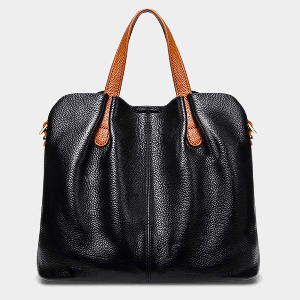 AIMIXU Frauen-Beutel-Mode Hit Farbe Mutter Tasche große Schulter Messenger-Taschen-Handtasche