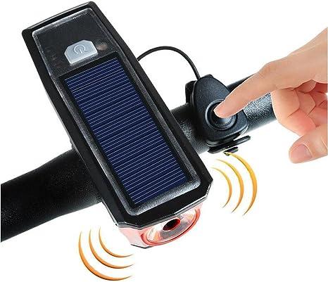 Super Bright USB Charging LED Waterproof Bike Lamp Headlight Taillight Set L/&6
