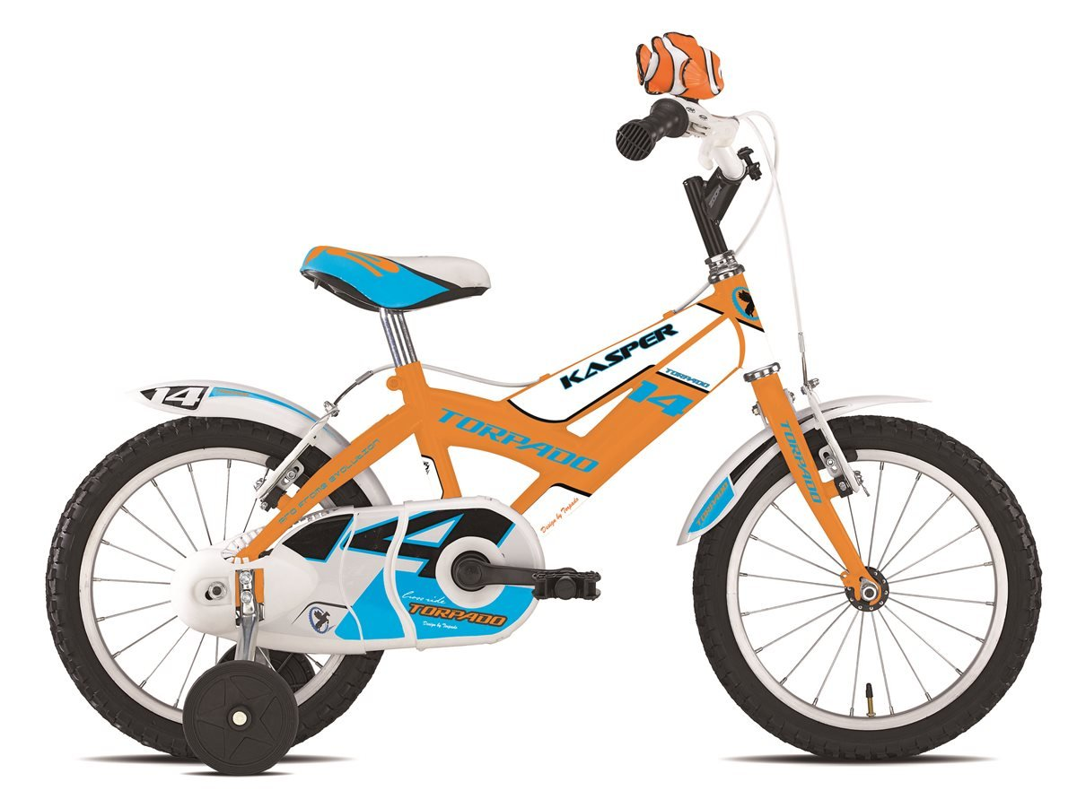 "TORPADO &apos Fahrrad Junior Kasper 14 ""Kind 1 V Orange (Kinder)/Bicycle Junior Kasper 14 KID 1 V Orange (Kid)"