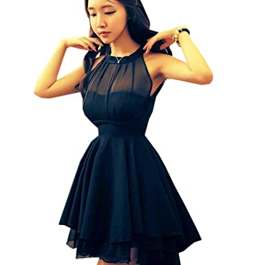 Amoin Women's Bandage Casual Dress Novelty Cute Lace Dresses at ...
