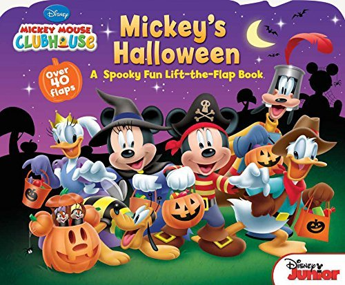 By Disney Book Group - Mickey Mouse Clubhouse Mickey's Halloween (Ina Ltf Br) (2015-08-12) [Board ()