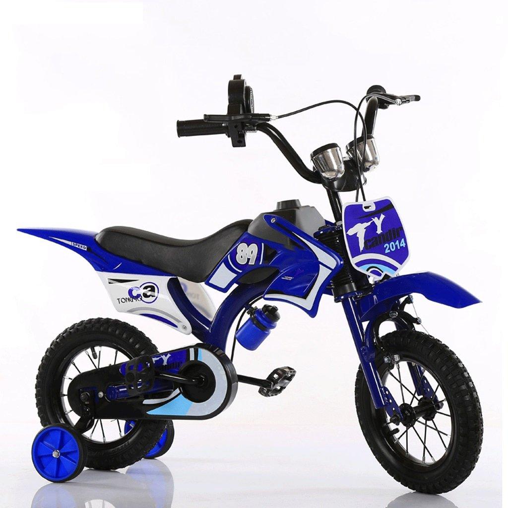自転車 子供のオート\u200b\u200bバイの形のバイク2-3-5-6-7-8歳の誕生日ギフト男性と女性のための12/14/16/18インチ (サイズ さいず : 12 inch) B07DYF4SCC 12 inch 12 inch