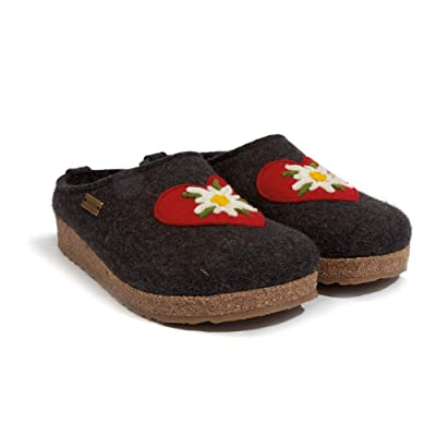 HAFLINGER Women's Heidi Wool Clogs: Shoes