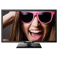 "Sceptre E195BV-SHD 19"" 720p 60Hz Class LED (1.93"" ultra-slim) HDTV"