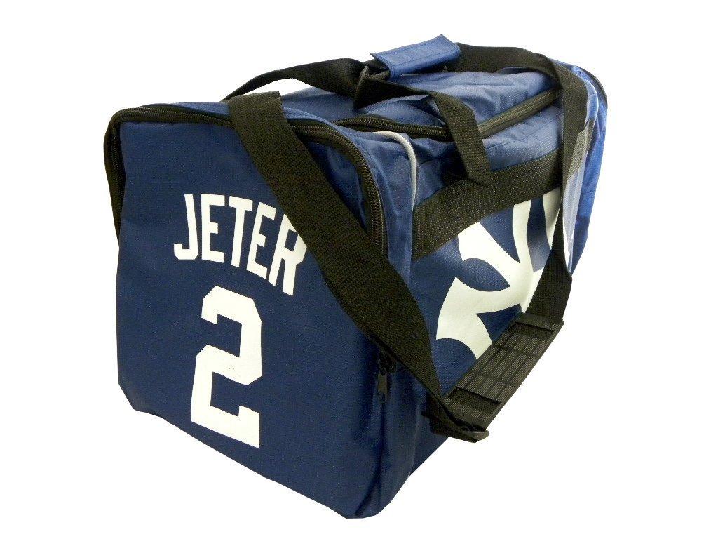 Amazon New York Yankees Derek Jeter 2 Premium Duffel Baggym Bag Sports Fan Bags Outdoors