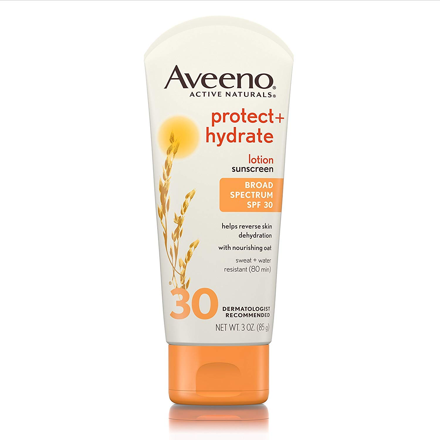 Aveeno Protect + Hydrate SPF#30 Lotion 3 Ounce (88ml) (3 Pack)