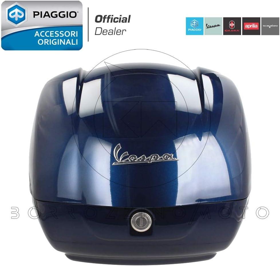 BAULETTO VESPA GTS 125-300 SUPER NOTTE NERO OPACO 99//C ORIGINALE PIAGGIO 42 Lt