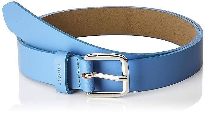 96ad9631aa07 Esprit Accessoires 098ea1s001, Ceinture Femme, Bleu (Light Blue 440), 90 (