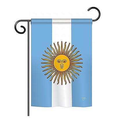 Amazon.com: Argentina Bandera Heritage Jardín 13