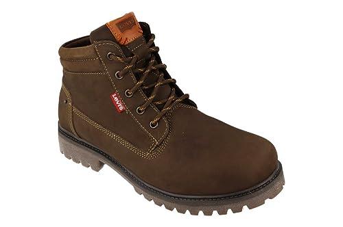 fa8c4497 LEVIS Botas Hombre Zapato Piel Marrón WATSONVILLE MID LACE - MARRON, 45:  Amazon.es: Zapatos y complementos
