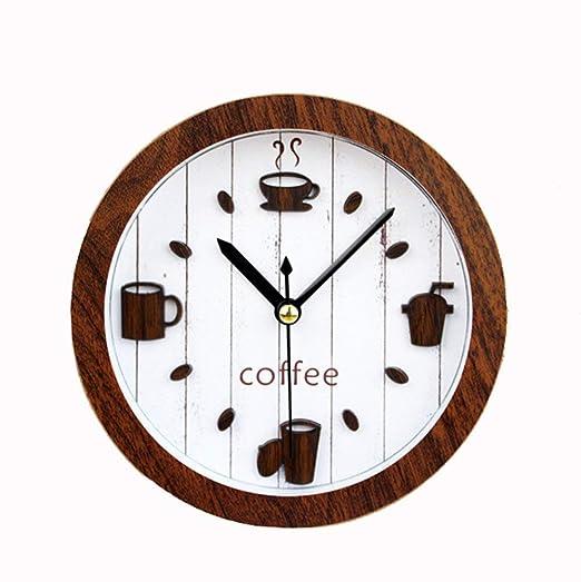 WALIZIWEI Reloj Despertador 3D Clásico Vintage Silencioso ...