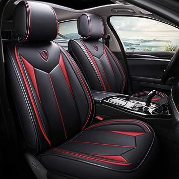 ARGENTO-Nero Coprisedili per Chrysler 300c COPRISEDILI Auto anteriore