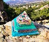 Orgonite Pyramid / Goddess Crystals / Violet Flame Orgone Pyramid