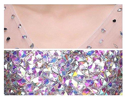 Violett Violett Damen Kleid Empire Empire Drasawee Damen Kleid Drasawee q8615