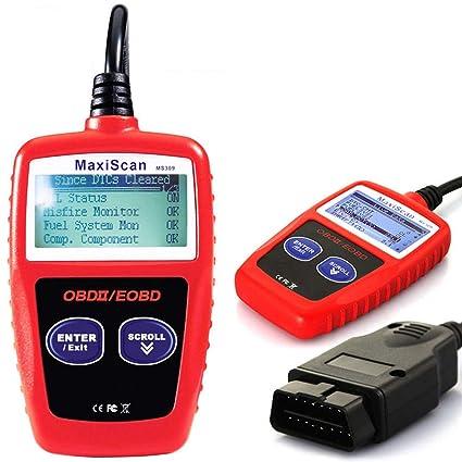 Amazon.com: GCARTOUR OBD2 OBD Car Diagnostic Scanner, Professional Diagnostic Car Detector Engine Error Code Reader NT301 Scanner Tool: Automotive