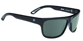 Spy Gafas de Sol Negro Angler Black-Happy Grey Green ...