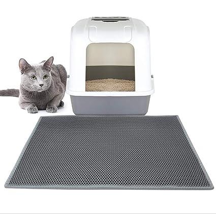 HLMF Alfombra Plegable para Gatos Trampa para colchonetas Estera de Nido de Abeja Impermeable