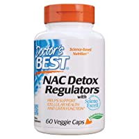 Doctor's Best NAC Detox Regulators with Seleno Excell, Non-GMO, Vegetarian, Gluten...