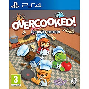 Overcooked: Gourmet Edition (PS4): PS4: Computer and Video Games