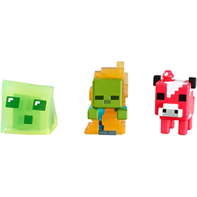 Mattel Minecraft Collectible Figures Set I (3-Pack), Series 3: Toys & Games