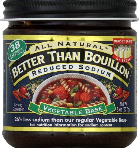 Better Than Bouillon Base Vgtbl Rdcd Sodium 8 Oz Health