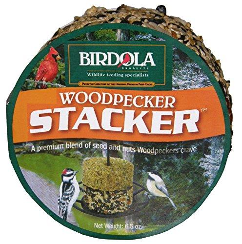 - Birdola Products 54611 6.5 Oz Woodpecker Stacker