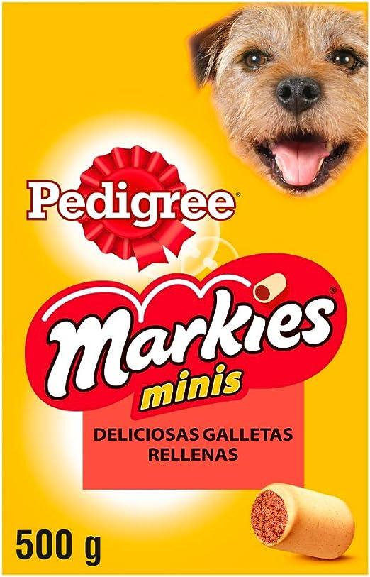 Galletas Markies para mimar a tu perro pequeño, 500 g (Pack de 12 ...
