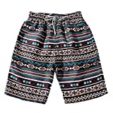 Swim Shorts Men Kstare Summer Couples Beach Floral Bohe Trunks for Men Nickel Pants Plus Size Sweatpants Swimwear