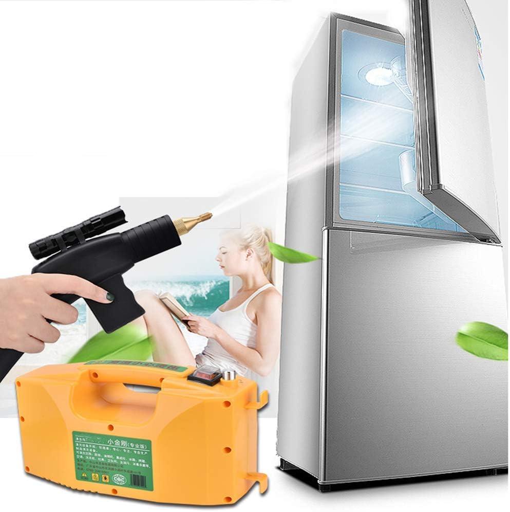 ZJJ Máquina Profesional de Limpieza de desinfección a Alta Temperatura, Limpiador de Vapor a presión multifunción seco y húmedo Ajustable con Pistola de pulverización 3000W