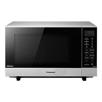 Panasonic Nn Sf464mbpq Flatbed Microwave Oven 27 Litre Silver